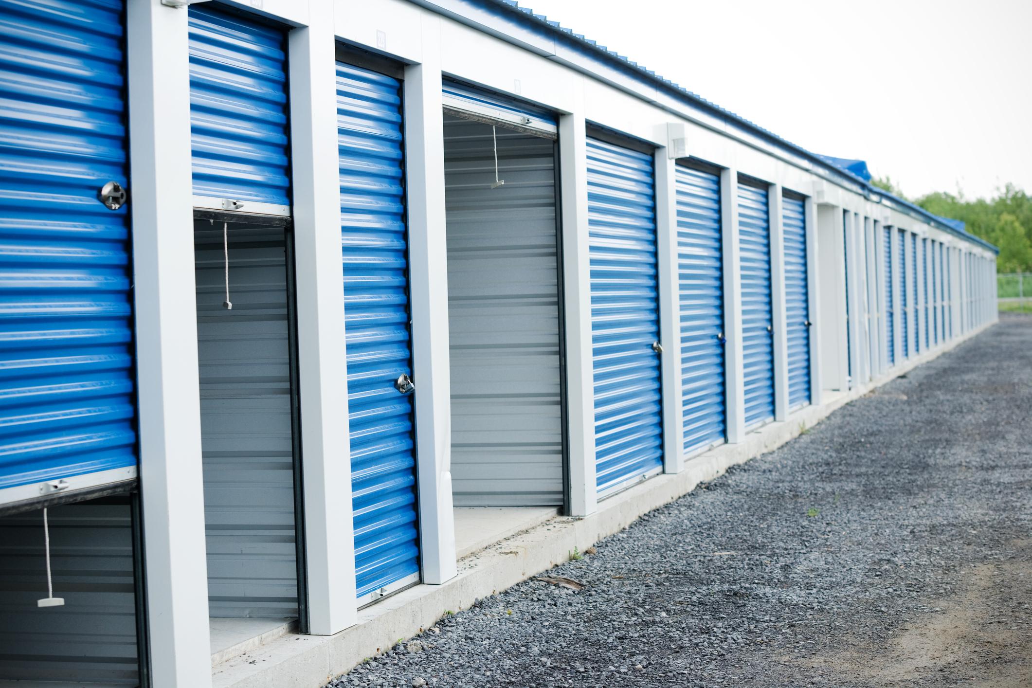 blue door self-storage units